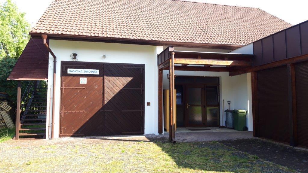 Oprava obecní budovy č.p. 1 v obci Křižanov